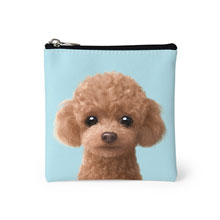 Ruffy the Poodle Mini Pouch
