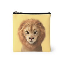 Lager the Lion Mini Pouch