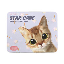 Byeol's Star Cane New Patterns Mouse Pad