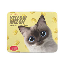 Chamoe's Yellow Melon New Patterns Mouse Pad