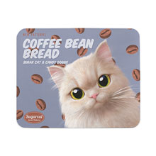 Nini's Coffee Bean Bread New Patterns Mouse Pad