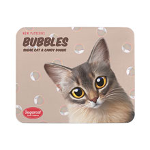 Rose's Bubbles New Patterns Mouse Pad