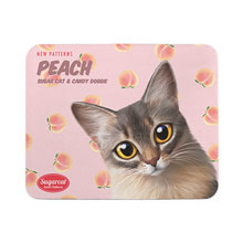 Rose's Peach New Patterns Mouse Pad