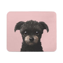 Peach the Schnauzer Mouse Pad