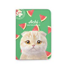 Achi's Watermelon Passport Case