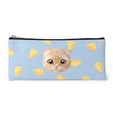 Cheddar's Cheese Face Leather Pencilcase
