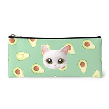 Danchu's Avocado Face Leather Pencilcase