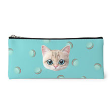 Dione's Macaroon Face Leather Pencilcase