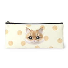 Kkukku's Cookies Face Leather Pencilcase
