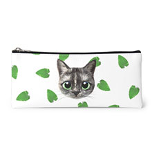 Najung's Catnip Face Leather Pencilcase