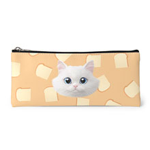 Soondooboo's White Bread Face Leather Pencilcase