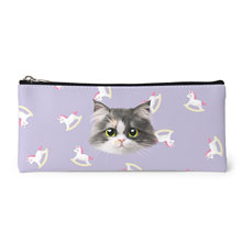 Zzing's Unicorn Face Leather Pencilcase
