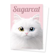 Cloud the Persian Cat Magazine Postcard