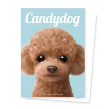 Ruffy the Poodle Magazine Postcard
