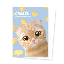 Cheddar's Cheese New Patterns Postcard