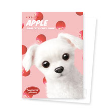 Dongdong's Apple New Patterns Postcard