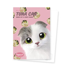 Duna's Tuna Can New Patterns Postcard