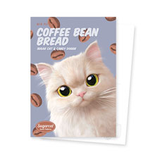 Nini's Coffee Bean Bread New Patterns Postcard