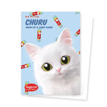 Ria's Churu New Patterns Postcard