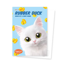 Ria's Rubber Duck New Patterns Postcard