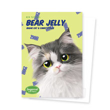Zzing's Bears Jelly New Patterns Postcard