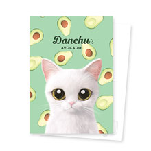 Danchu's Avocado Postcard