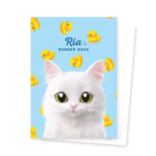 Ria's Rubber Duck Postcard