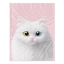Cloud the Persian Cat Soft Blanket