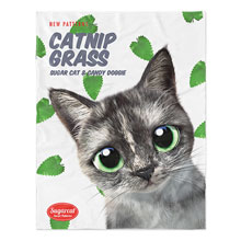 Najung's Catnip New Patterns Soft Blanket