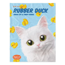 Ria's Rubber Duck New Patterns Soft Blanket
