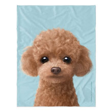 Ruffy the Poodle Soft Blanket