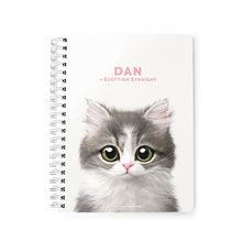 Dan the Kitten Spring Note