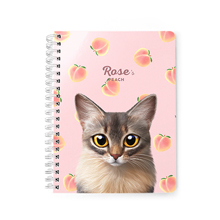 Rose's Peach Spring Note