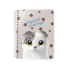 Duna's Choco Cereal Script Logo Spring Note