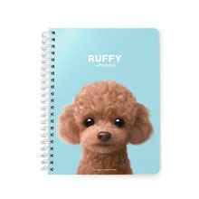 Ruffy the Poodle Spring Note