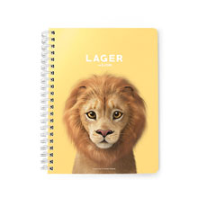 Lager the Lion Spring Note