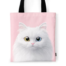 Cloud the Persian Cat Tote Bag
