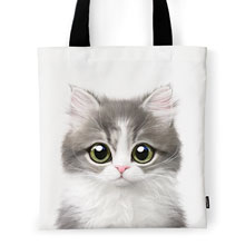 Dan the Kitten Tote Bag