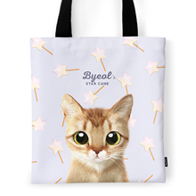 Byeol's Star Cane Tote Bag