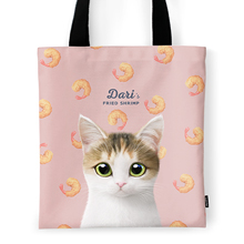 Dari's Fried Shrimp Tote Bag