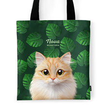 Nova's Monstera Tote Bag