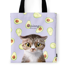 Ohsiong's Avocado Tote Bag