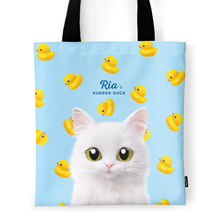 Ria's Rubber Duck Tote Bag