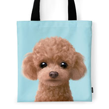 Ruffy the Poodle Tote Bag